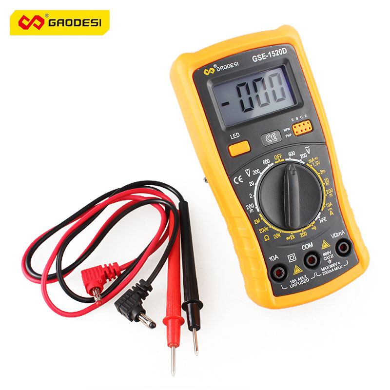 Electrical Resistance Meter : Test ac dc voltage resistance tester electrical