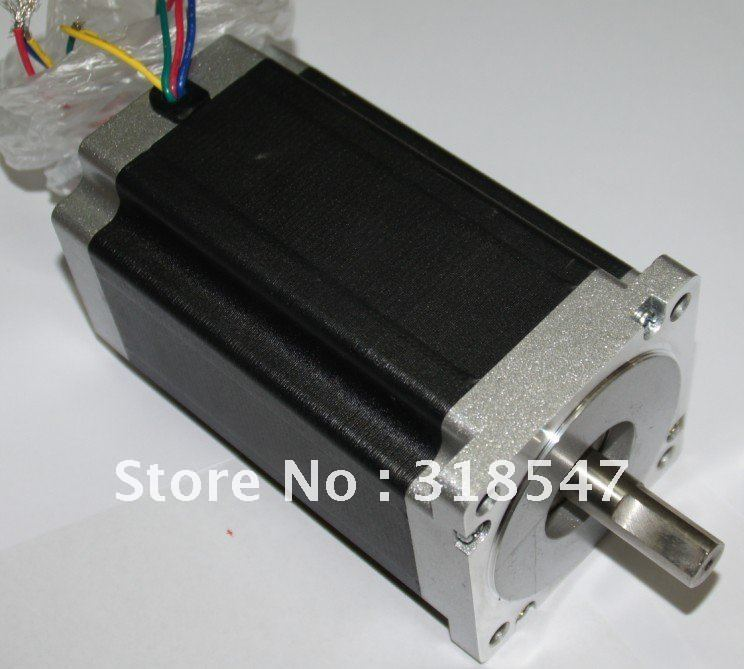 CNC Stepper Motor Nema34 1600oz.in 151MM 57BYGH Single Shaft 3.5A 4WIRES LONGS