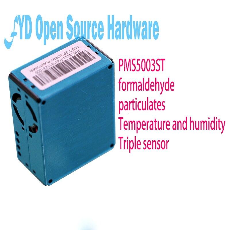 Laser pm2.5 + formaldéhyde + température + humidité 4in1 PMS5003ST capteur