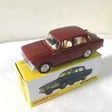 1/43 ATLAS DINKY TOYS 1410 MOSKVITCH 408 Alloy Diecast Car model & Toys Model for Collection