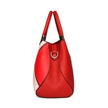 KXYBZ Luxury Designer Women Handbag Fashion Patchwork Hit Color Female Messenger Bag Soft Leather Women Crossbody Bag K1029