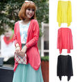 New Women Lady Sun Protection Sunscreen Blouse Cardigan Thin Shirt Sunblock Tops