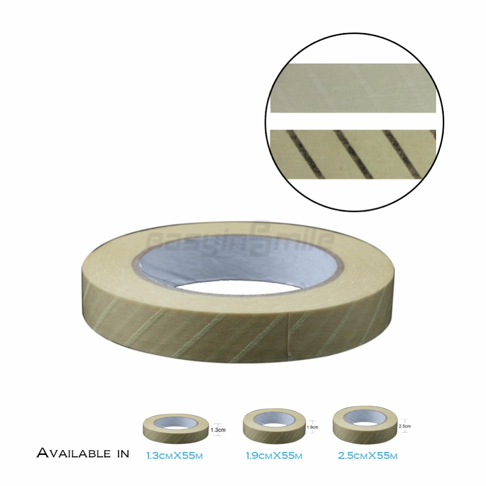 1PC EASYINSMILE Steam Sterilization Indicator Tape Lead-Free Latex-Free Infection Control 13mm 19mm 25MM 60Yard 1pc easyinsmile steam sterilization indicator tape lead free latex free infection control 13mm 19mm 25mm 60yard