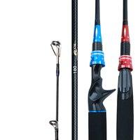 High Quality Fishing Rod 1.8/2.1/2.4M Lure Rod High Carbon Distance FishingPole Spinnig/Casting Black Fish Rod Fishing Equipment