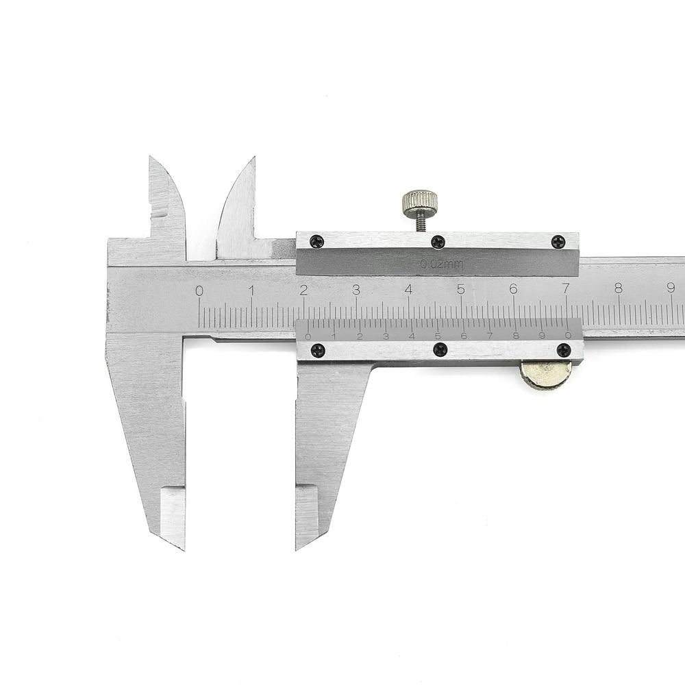 NEWACALOX Calibradores de metal 6 pulgadas 150 mm Vernier Herramienta - Instrumentos de medición - foto 2