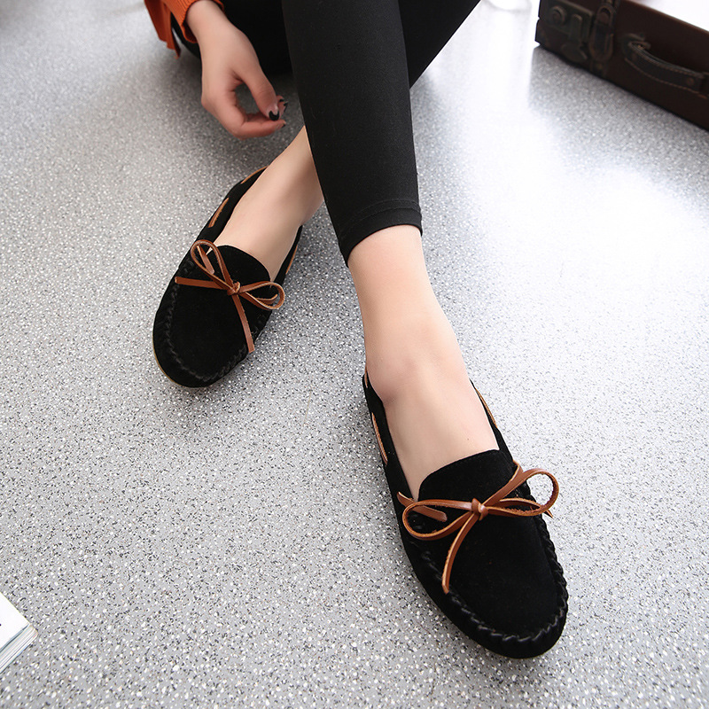 Marlong 2017 New Elegant Women Flat Shoes Fashion Summer Spring Loafers Ladies Suede Slip On Lady Ballet Shoes Flats Shoes flat shoes women pu leather women s loafers 2016 spring summer new ladies shoes flats womens mocassin plus size jan6