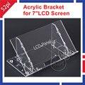 """Transparente de Acrílico Transparente Suporte para Raspberry Pi 7 """"Painel Da Tela de LCD Tela Digital"""