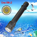 High Quality  XM-L2 LED Scuba Diving Flashlight Torch 26650 Light Underwater 100m