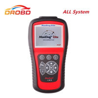 Original Autel Maxidiag Elite MD701 With Data Stream Function For Asia Vehicles All System Update Online OBD2 Code Scanner