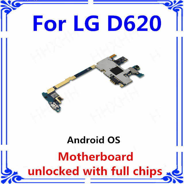 Оригинальная G2 mortherboard разблокирована для LG G2 mini D620 материнская плата с системой Android D620 логические платы с полными ЧИПАМИ MB plate
