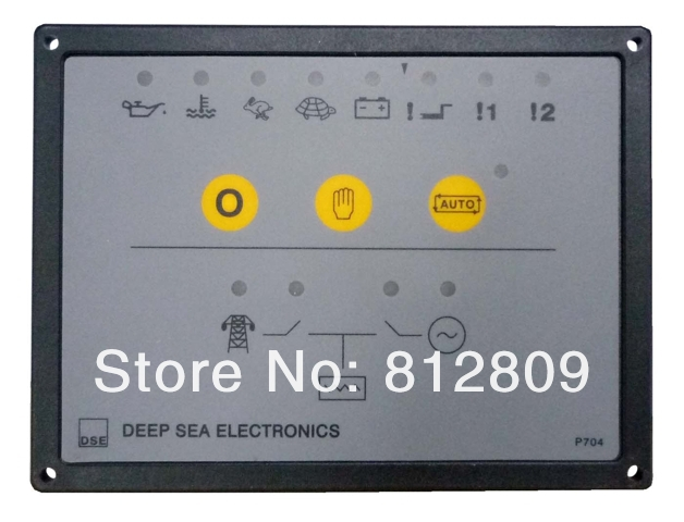 Controller DSE704 704 Diesel Engine Genset Controller Board Generator Control Panel Free Shipping with Track Number 12002845 free shipping genset controller 704 generator control unit 704