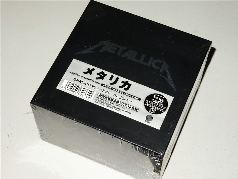 Тяжелый металл полная Музыка Cd Box Set 13CD японский альбом абсолютно новый завод запечатал лучшее качество AliExpress