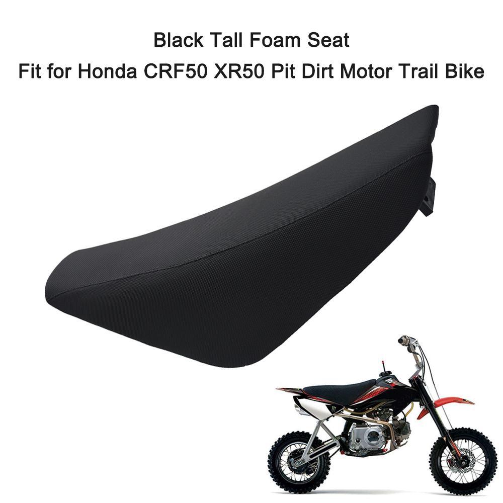 3D Sandwich Fabric Sunshade Sunproof  Tall Foam Moto Seat Cover Fit For Honda CRF50 XR50 Pit Dirt Motor Trail Bike(China)