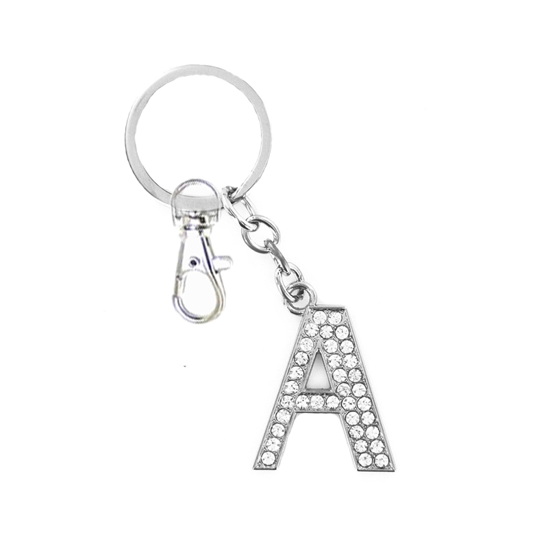 US $1 37 51% OFF|6 Styles High Quality Letters Key Chains Wholesale Price  Crystal Keychain For Boys Girls Fashion Jewelry Accessories Key Rings-in  Key