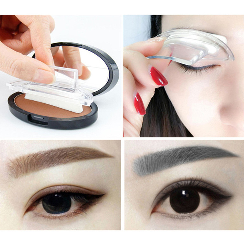 Beauty & Health Beauty Essentials Ibcccndc 9 Color Lazy Quick Eyebrow Powder Stamp Seal Tint Waterproof Long Lasting Eyes Brow Shadows Set Natural Shape For Eyes