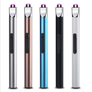 Image 2 - BBQ Ignition Arc USB Lighter Rechargeable Electronic Kitchen Lighter Cigarette Plasma Palse Pulse Gas stoves Thunder Lighter