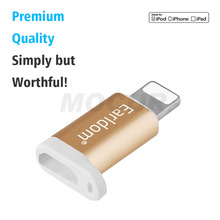 Android to IOS USB OTG Adapter for iPhone Android->Lightnning Charge Micro USB to 8Pin Adapter for IOS SAMSUNG Huawei