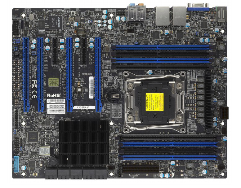 OEM X10SRA Single E5 I7 2011 Needle C612 DDR4 Graphics GPU Workstation Motherboard Fight X99