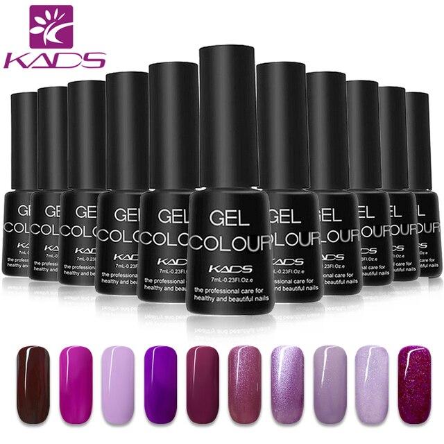 KADS Gel Nail Polish Gel UV Soak off Gel Lacquer Polish 7ml Long Lasting Nail Gel Nail Art Glue vernis Semi Permanent uv led