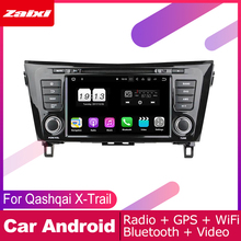 цена на ZaiXi android car dvd gps multimedia player For Nissan Qashqai X-Trail 2013~2019 car dvd navigation radio video audio player