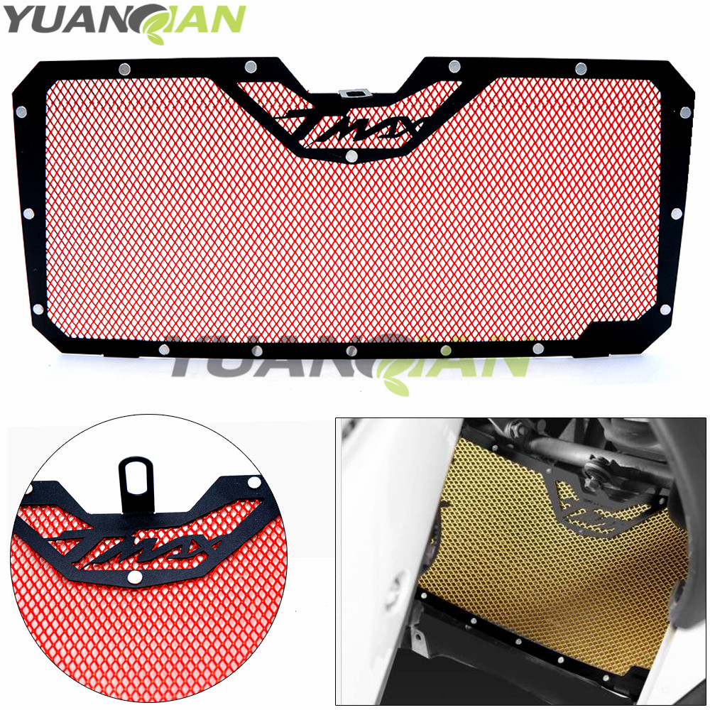 Motorcycle Radiator Guard Protector Grille Grill Cover Stainless Steel Radiator Grill Cover for YAMAHA TMAX530 2012-2016 motorcycle stainless steel radiator guard protector grille grill cover for kawasaki z750 2010 2011 2012 2013 2014 2015 2016
