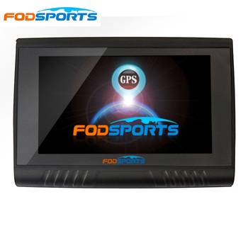 Fodsports 5.0 Inch Waterproof Motorcycle GPS Moto Bluetooth Navigator FM Transmitter 256M RAM 8GB Flash free map 7 inch lcd screen windows ce 6 0 core av bluetooth gps navigator with fm transmitter