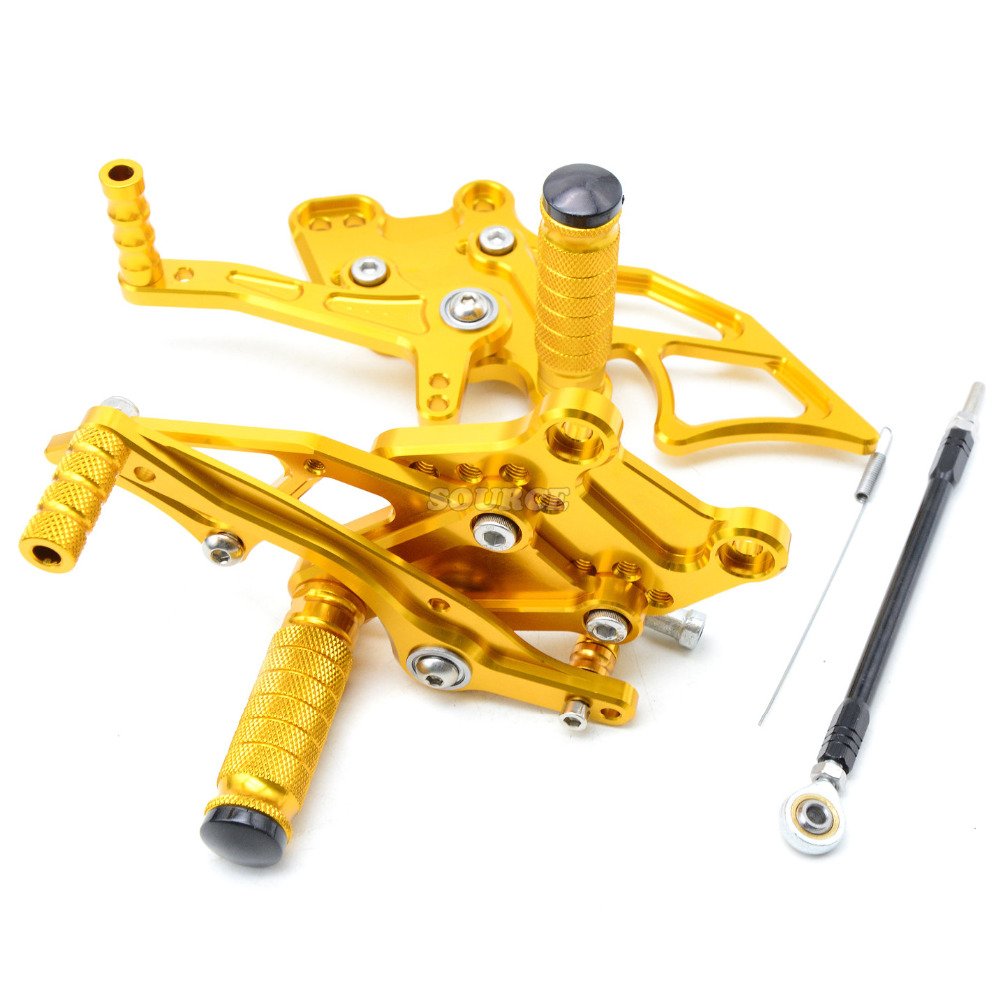 Motorcycle Rearset Foot Pegs CNC Accessories Parts For yamaha R3 R25 2014-2016 Adjustable Rearsets Rear Sets Foot Pegs Pedal morais r the hundred foot journey