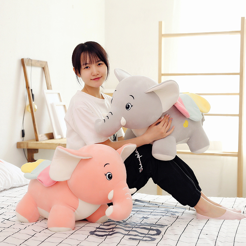 Cartoon 22-50cm Cute Dumbo Elephant Plush Toys Soft Stuffed Kawaii Animals Doll Lovely Pilllow for Children Kids Baby Girls Gift