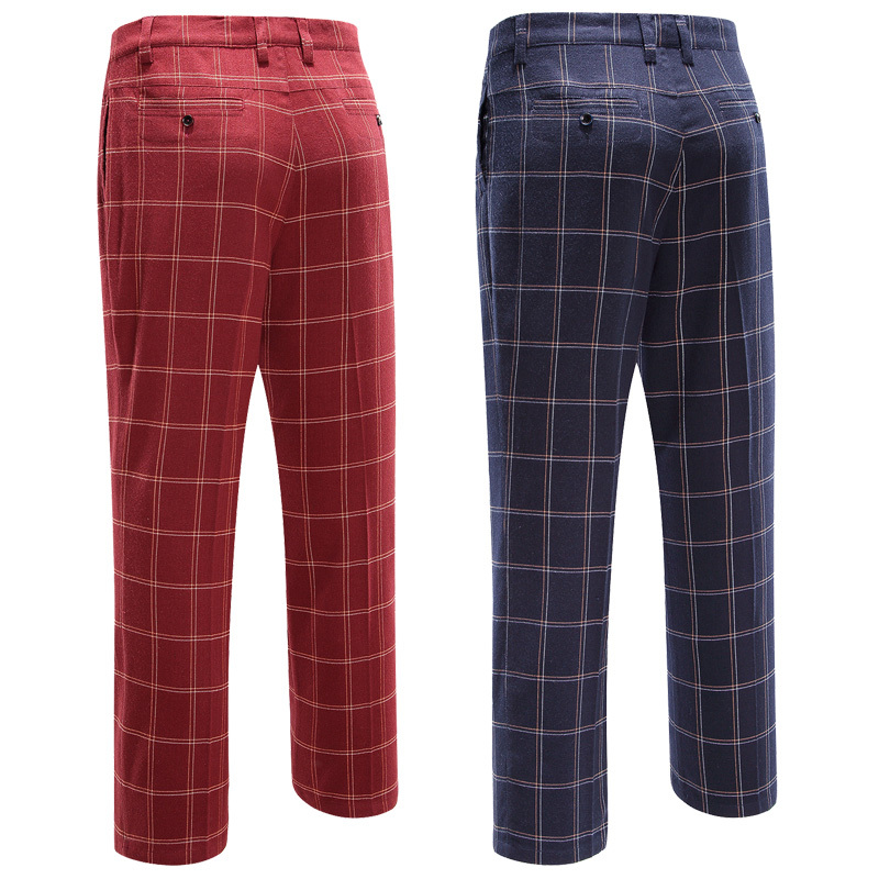 Branded POLO authentic 2015 sport golf plaid pants for men thin trousers easy care male pants fanshion colorful golf pants high quality authentic famous polo golf double clothing bag men travel golf shoes bag custom handbag large capacity45 26 34 cm