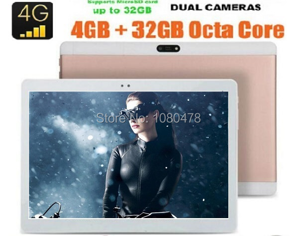 2017 Hot New 10 inch 4G LTE Tablet 1920 1200 8 0MP 4GB RAM 64GB ROM