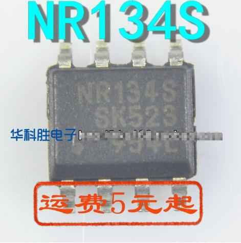 1PCS  NR134S NR134 Sop-8 Chipset New Original