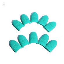 10 шт силикагель для ногтей личная гигиена для снятия лака шапочка