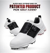 17eca23d0 Novo 2019! Luvas de Golfe PGM Sapatos Calçados Esportivos Dos Homens das  Sapatilhas À Prova