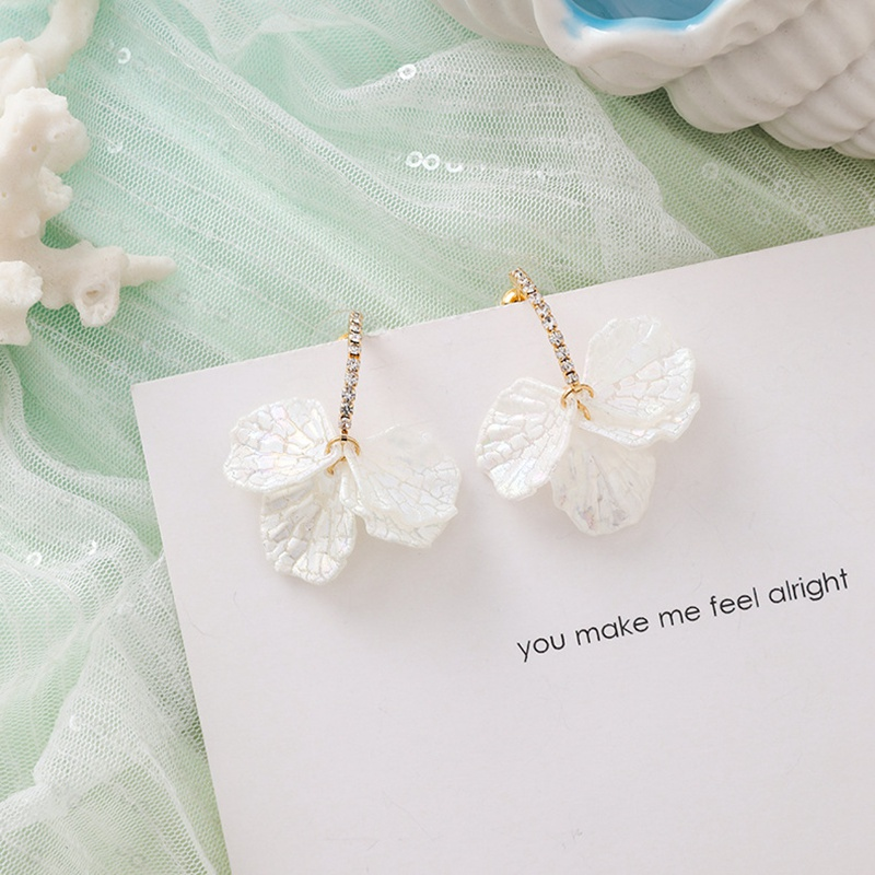 MENGJIQIAO New Korea Japan Elegant Shell Starfish Drop Earrings For Women Sweety Simulated Pearl Pendientes Girl Party Jewelry 23