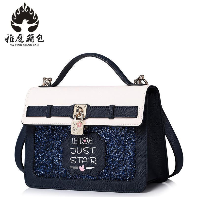 2018 New Women Bag Female Pu Leather Crossbody Shoulder Bags Girls Messenger Bag Bolsa Feminina With High Quality Diamonds shoulder bag pu leather women messenger bags bolsa feminina sac high quality crossbody bag for ladies female girls double zipper