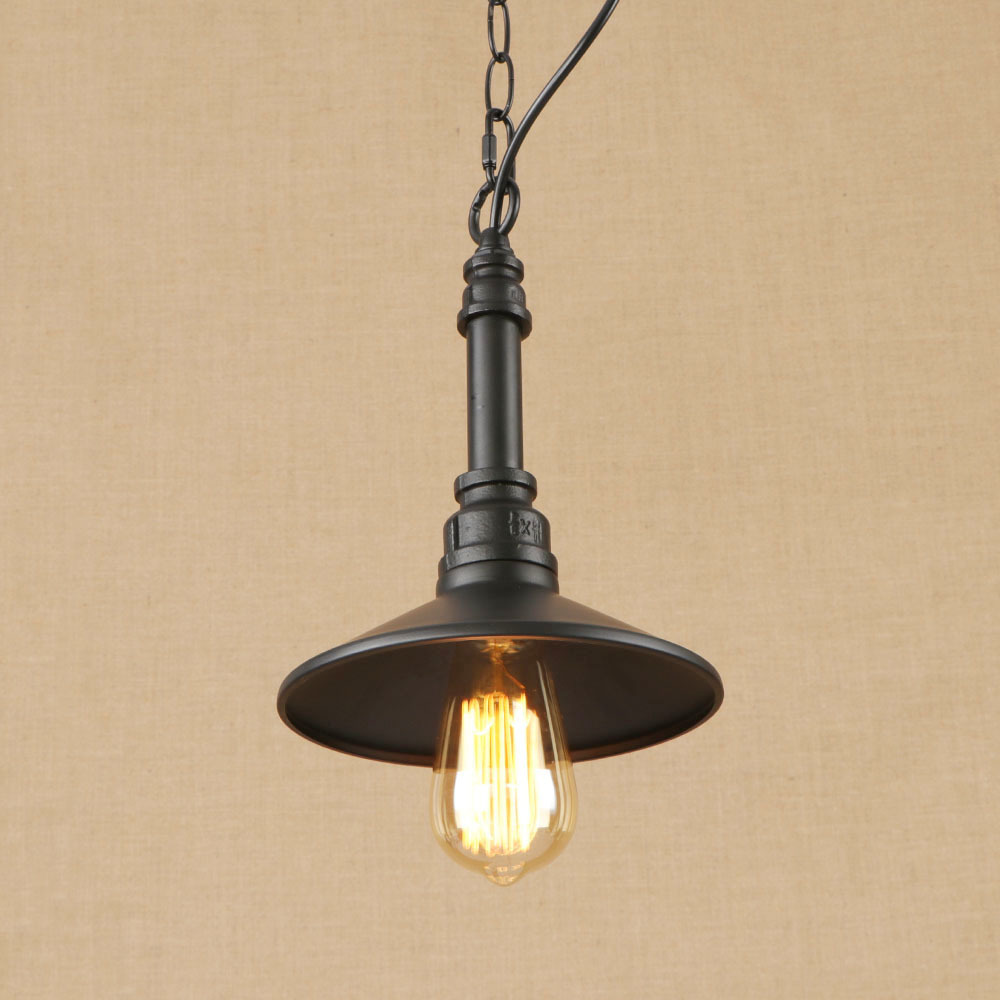 Vintage Iron Black Hang Lamp LED Lamp Pendant Light Fixture E27 110V 220V For Kitchen Lights Parlor Study Dining Room Bed Room стоимость