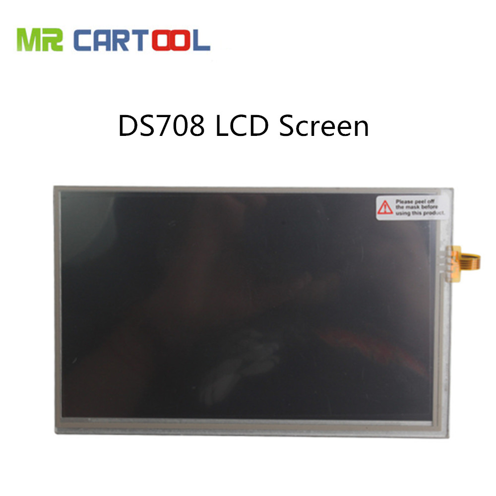 100% Original Autel Maxidas DS708 LCD Screen Best Matched Maxidas DS708 LCD Touch Screen Free Shipping dhl free shipping 100% original autel maxidiag elite md802 all system ds model 4 in 1 engine transmission abs airbag
