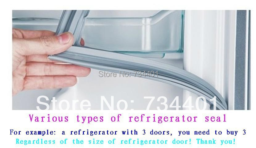 New refrigerator accessories door seals electric refrigerator seal magnetic strip magnetic sealr seal ring refrigerator seal freezer magnetic sealing strip door gasket custom made white gray