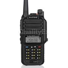 Baofeng GT-3WP IP67 A Prueba de agua de Doble Banda 136-174/400-520 MHz Jamón Radio de Dos Vías-receptor Walkie Talkie Cable del Cargador del coche
