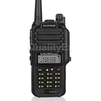 Baofeng GT 3WP IP67 Waterproof Dual Band 136 174/400 520MHz Ham Two Way Radio Transceiver Walkie Talkie + Car Charger Cable