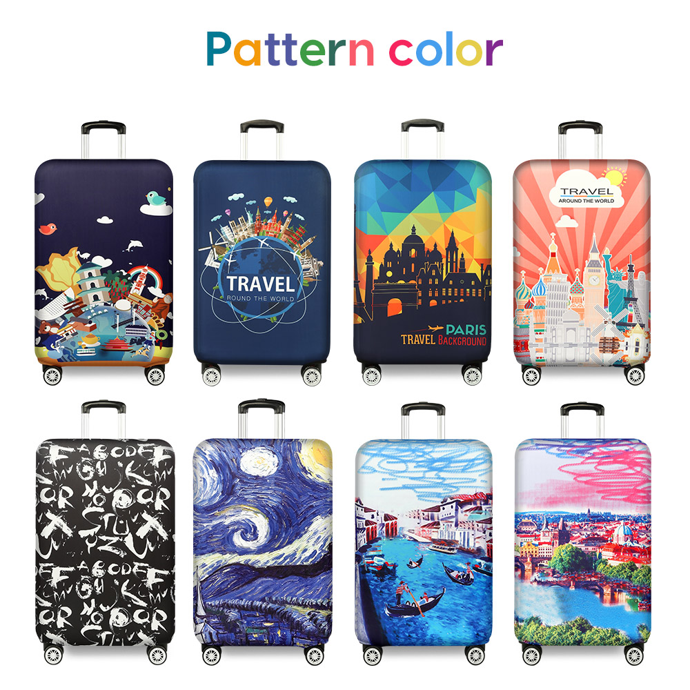 """luggage Cover Thicker Suitcase Protective Cover Elastic Luggage Dust Cover Travel Accessories Suitable 18""""-32"""""""
