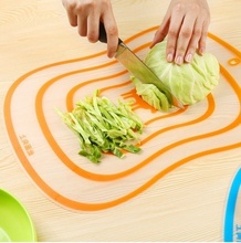 Frosted Transparent Plastic Cutting Board Non-slip Moulding