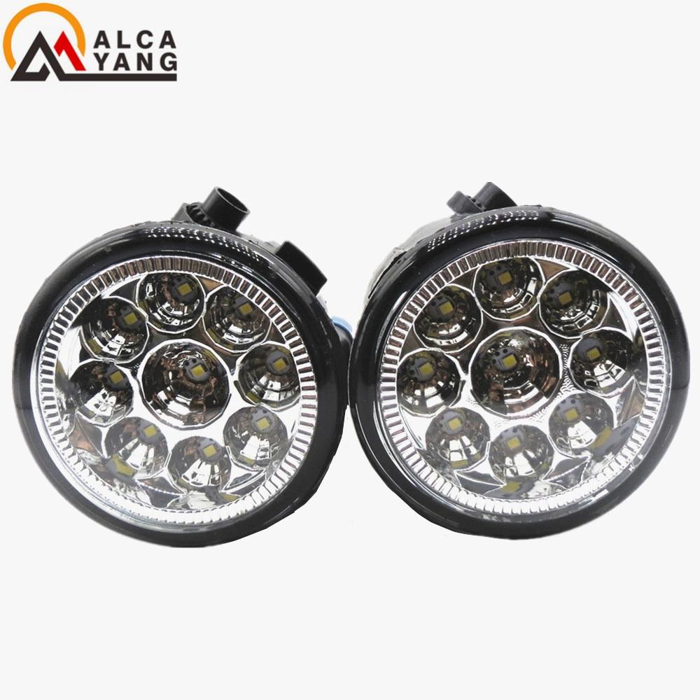 Malcayang  Angel Eyes For Car styling Fog lights NISSAN NOTE E11 MPV 2006-2015 LED & halogen lamps teana angel eyes led head lights for nissan 2008 11 v4 type