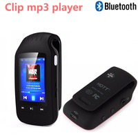 Bluetooth MP3 Player 8GB HOTT 1037 Support Sport Pedometer FM Radio w/ TF Card Slot 1.8 LCD Screen MP3 Stereo Music Player