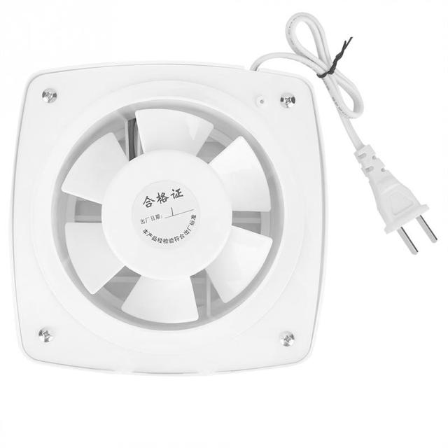 Beau 12W 220V Hanging Wall Window Glass Small Ventilator Extractor Bathroom  Kitchen Exhaust Fan Mount Air Vent