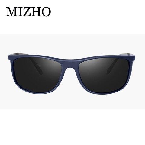 MIZHO 18g Ultralight Aluminum Leg UVA Polaroid Sunglasses Men Vintage Eyewear Accessories Brand Polarized Sunglasses Women 2019 Multan