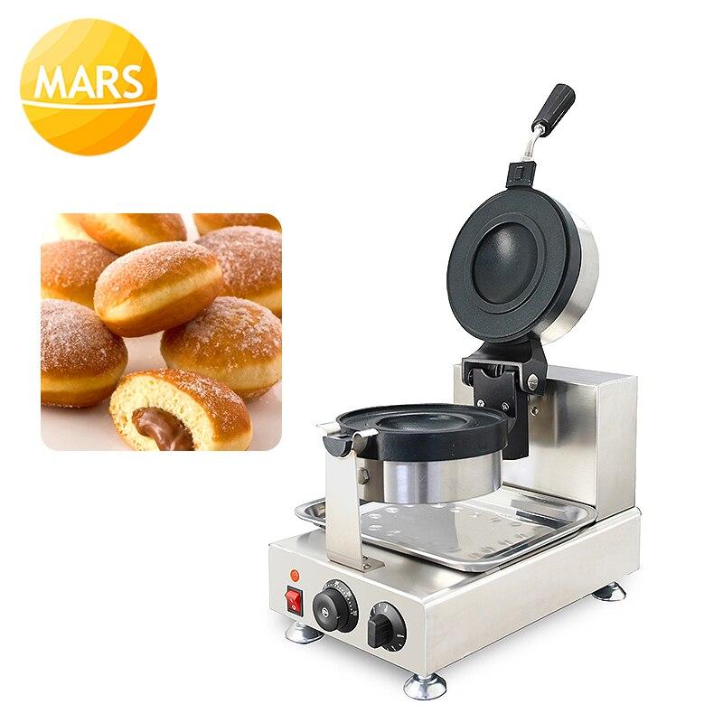 Nueva máquina de prensa comercial de helados de Donut, postres italianos, Gelato Panini, 220V/110V, máquina de prensado de hamburguesas - 6
