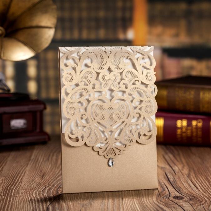 50 unidslote invitaciones de boda al por mayor tarjeta de invitacin invitaciones de boda