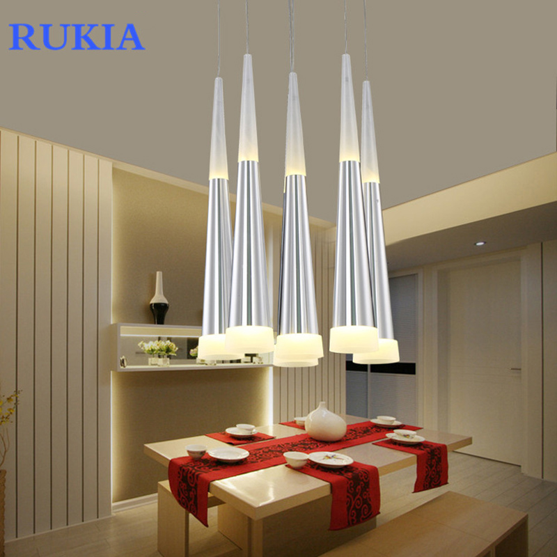 RUKIA Modern led Conical pendant light home lighting hanglamp dining living room cafe bar droplight fixture ceiling pendant lamp стоимость