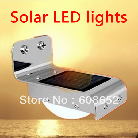 Sell like hot cakes! Solar energy (acoustic control lamp) and led / 800 mah solar doorplate energy-saving lamps